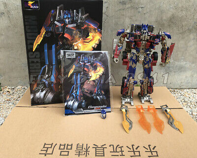 WJ SS05 29CM OptimusPrime Commander Autobot Transformers Metal Oversized Figure