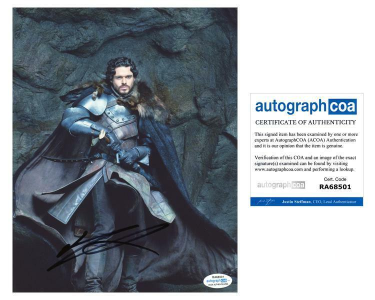 """Richard Madden """"Game of Thrones"""" AUTOGRAPH Signed 8x10 Photo ACOA"""