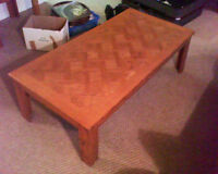 moving sale, set of coffee tables