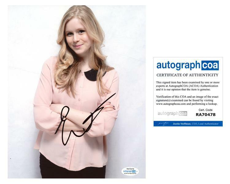 "Erin Moriarty ""The Boys"" AUTOGRAPH Signed 8x10 Photo ACOA"