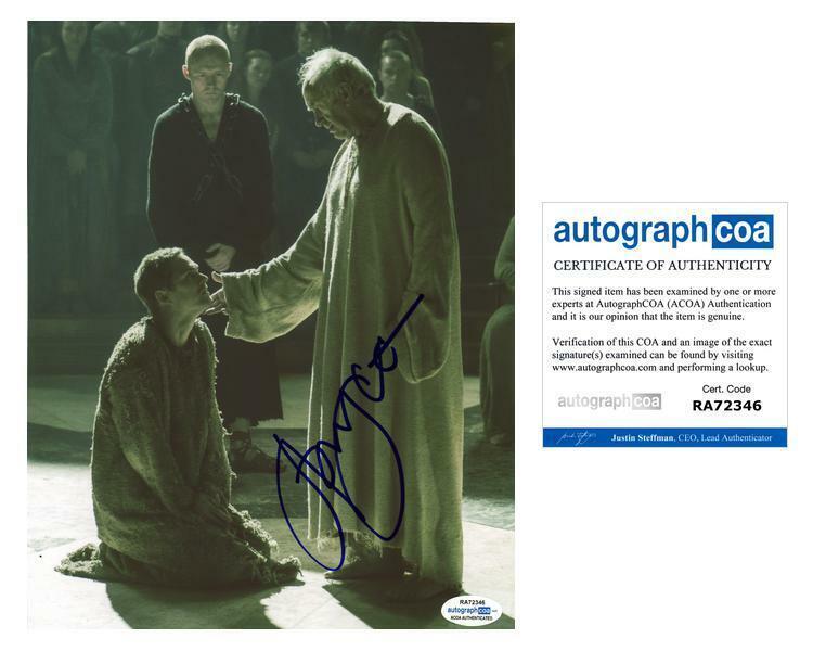 "Jonathan Pryce ""Game of Thrones"" AUTOGRAPH Signed 8x10 Photo C ACOA"