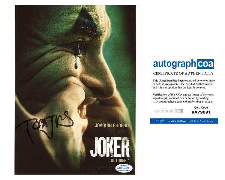 "Todd Phillips ""Joker"" Director AUTOGRAPH Signed 8x10 Photo G ACOA"