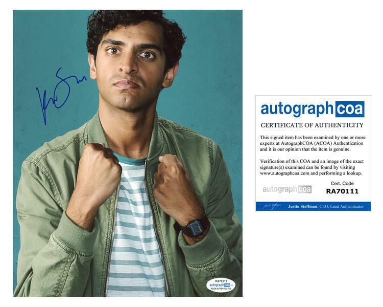 "Karan Soni ""Miracle Workers"" AUTOGRAPH Signed 8x10 Photo B ACOA"