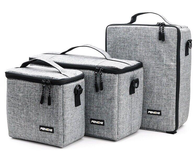 Camera Bag Padded Insert Carry Case Partition For DSLR SLR C