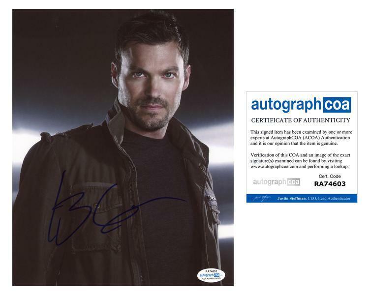 "Brian Austin Green ""Beverly Hills 90210"" AUTOGRAPH Signed 8x10 Photo B ACOA"