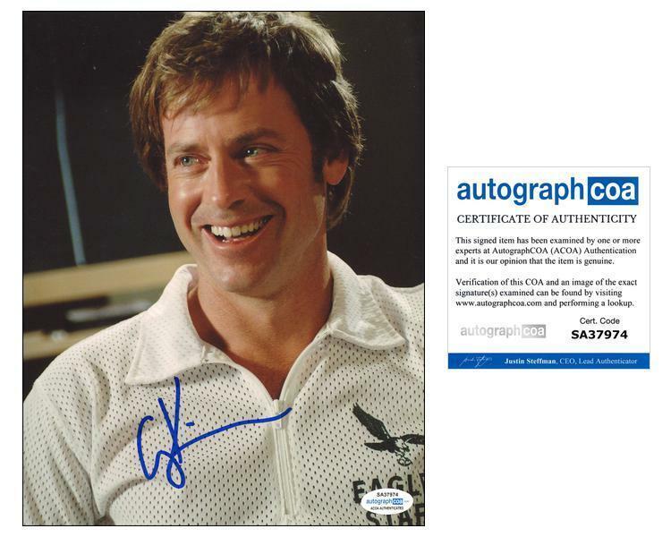 "Greg Kinnear ""Invincible"" AUTOGRAPH Signed 'Dick Vermeil' 8x10 Photo B ACOA"