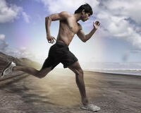 Jogging:fast Improv your enduranc up 2twice/3times faster&longer