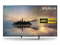 """NEW 65""""SONY 4k £550,price is negotiable and guaranteed one year."""