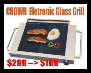 Crown Electric Glass Grill – New Lifestyle