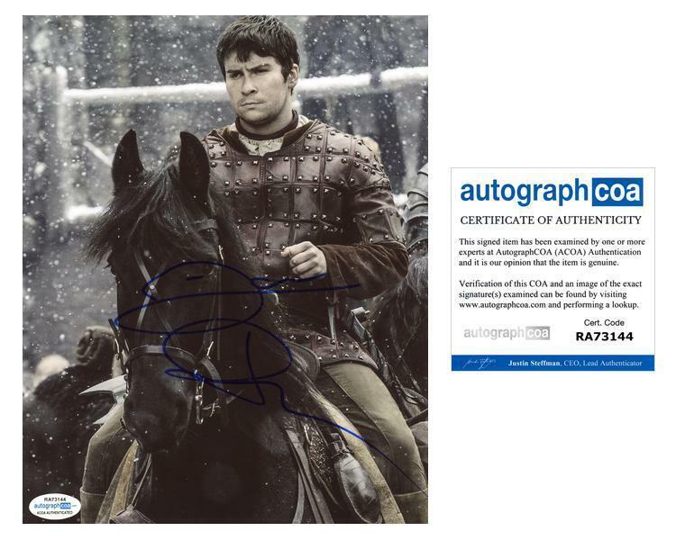 "Daniel Portman ""Game of Thrones"" AUTOGRAPH Signed 8x10 Photo ACOA"
