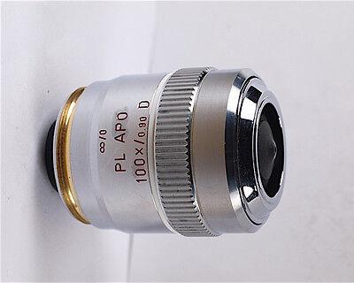 Leitz Pl Apo 100x D M32 Infinity Microscope Objective