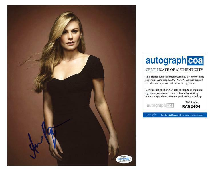 "Anna Paquin ""True Blood"" AUTOGRAPH Signed 8x10 Photo C ACOA"