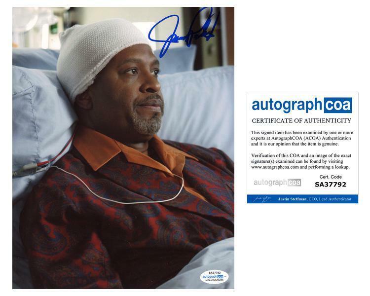 "James Pickens Jr. ""Grey's Anatomy"" AUTOGRAPH Signed 'Dr. Webber' 8x10 Photo D"