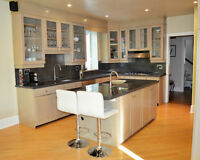 Custom Kitchen In A Good Condition For Sale