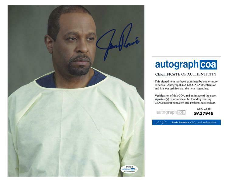 "James Pickens Jr. ""Grey's Anatomy"" AUTOGRAPH Signed 'Dr. Webber' 8x10 Photo B"