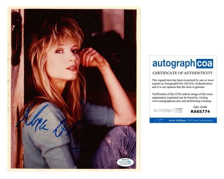 Rebecca De Mornay Autographed Signed 8x10 Photo ACOA
