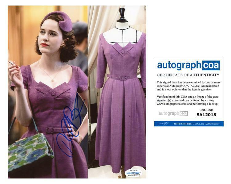 "Rachel Brosnahan ""The Marvelous Mrs. Maisel"" AUTOGRAPH Signed 8x10 Photo E ACOA"