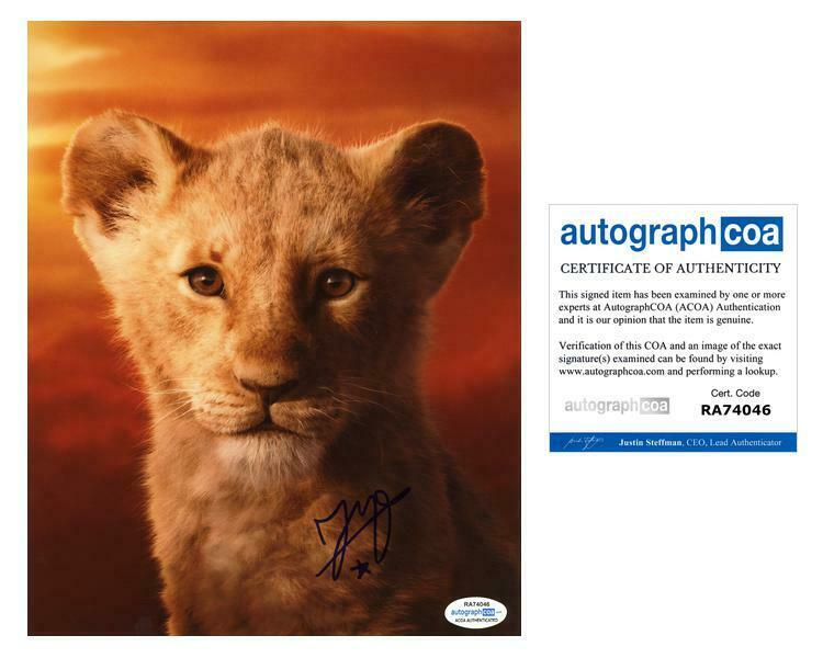 "JD McCrary ""The Lion King"" AUTOGRAPH Signed Simba 8x10 Photo C ACOA"