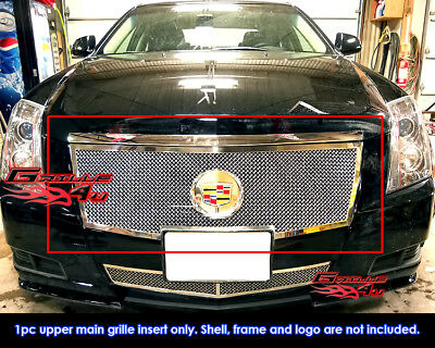 Fits Cadillac CTS Stainless Steel Mesh Grille Grill Insert 2008-2013