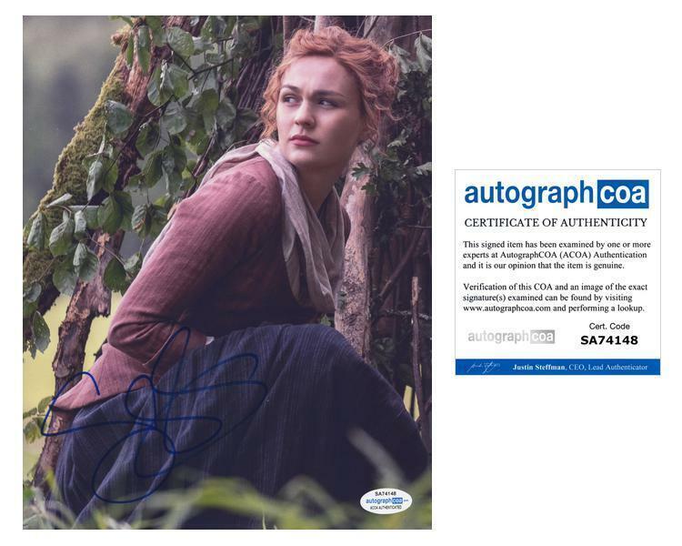 "Sophie Skelton ""Outlander"" AUTOGRAPH Signed 'Brianna Randall Fraser' 8x10 Photo"