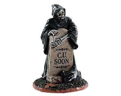Halloween Town (Lemax Grim Reaper Tombstone, Spooky-Town, Halloween, Gruseldorf)