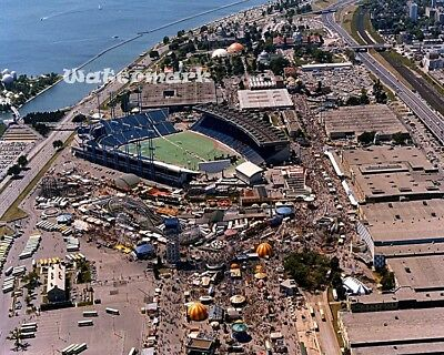 MLB Exhibition Stadium Toronto Blue Jays Aerial View Color 8 X 10 Photo Picture  Toronto Blue Jay Stadium