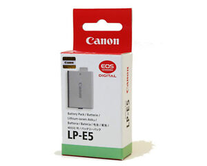 **CANON genuine BATTERY Pack LP-E5 / made in Japan / new