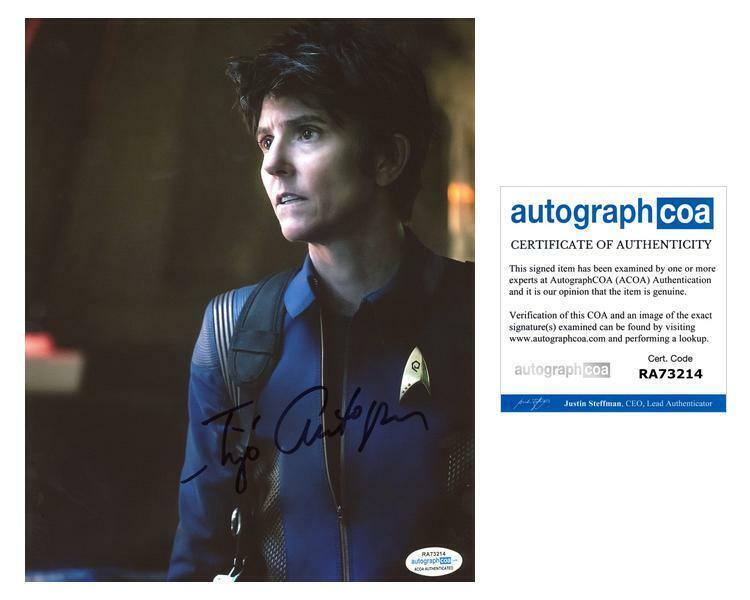 "Tig Notaro ""Star Trek: Discovery"" AUTOGRAPH Signed 8x10 Photo ACOA"
