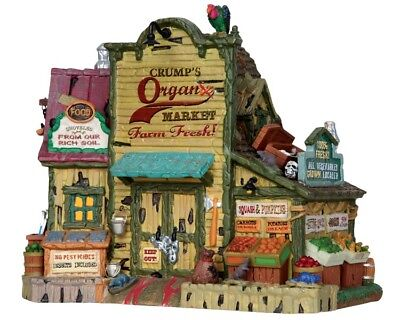 LEMAX CRUMP`S ORGANIC MARKET Halloween Spookytown Spooky Town (Halloween Town)