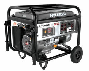 Hundai HHD6250 - Power Equipment Generator (Mint)