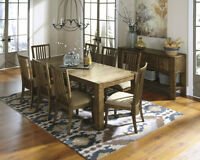 Great Long Dining Table with 6 chairs
