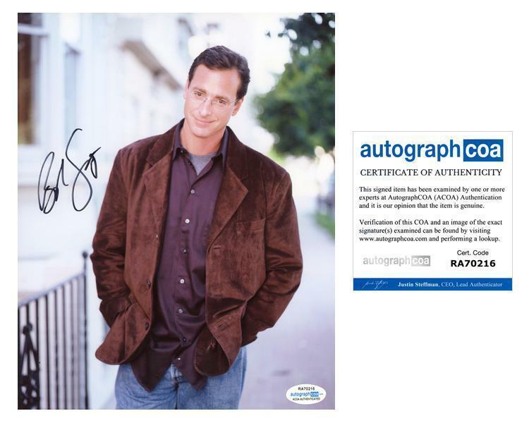 "Bob Saget ""Full House"" AUTOGRAPH Signed 8x10 Photo B ACOA"
