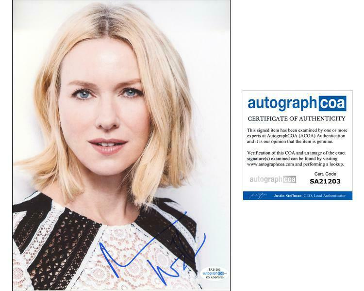 """Naomi Watts """"Gypsy"""" AUTOGRAPH Signed 8x10 Photo ACOA"""