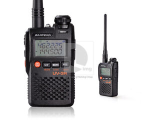 BAOFENG UV3-R Mark II VHF UHF 136-174/400-470Mhz Dual Band FM VOX Two Way Radio