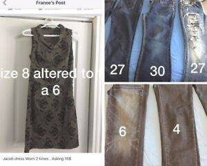 Pre loved clothes for sale