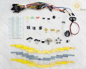 Electronic-Project-arduino-Starter-Kit-Jumper-Cable-breadboard-Resistors