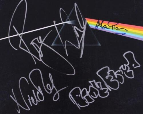 REPRINT - PINK FLOYD Roger Waters & Band Signed Glossy 8 x 10 Photo Print RP