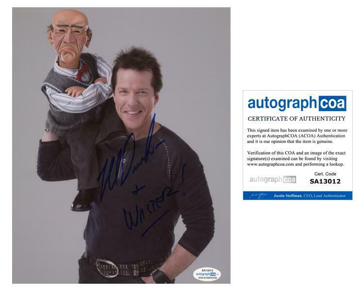 "Jeff Dunham ""Unhinged in Hollywood"" AUTOGRAPH Signed 'Walter' 8x10 Photo ACOA"