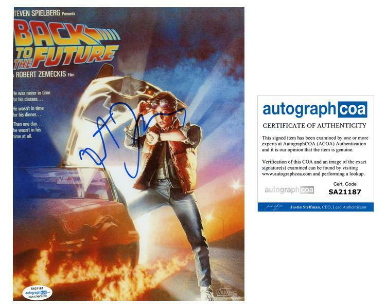 """Robert Zemeckis """"Back to the Future"""" Director AUTOGRAPH Signed 8x10 Photo ACOA"""