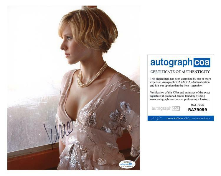 "Kristen Bell ""Veronica Mars"" AUTOGRAPH Signed 8x10 Photo C ACOA"
