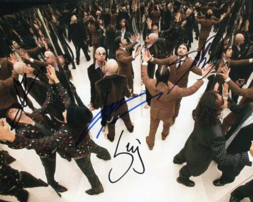 REPRINT - SYSTEM OF A DOWN Serge Band Autographed Signed 8 x 10 Photo Poster RP