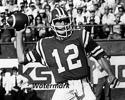 910d995be9c CFL 1980 s John Hufnagel QB Saskatchewan Roughriders Game Action 8 X 10  Photo