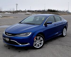 2016 Chrysler 200 Limited w/Rem Start  8.4 inch screen  w/Remote