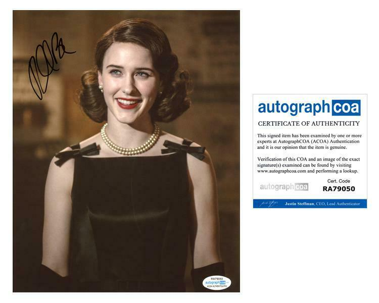"Rachel Brosnahan ""The Marvelous Mrs. Maisel"" AUTOGRAPH Signed 8x10 Photo C ACOA"