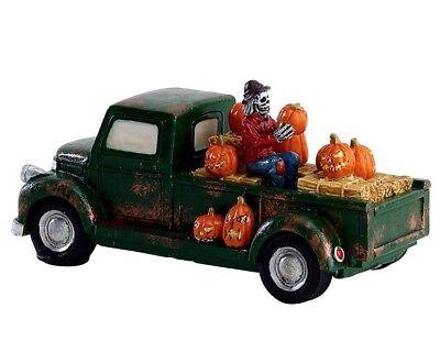 LEMAX PUMPKIN PICKUP TRUCK Halloween Spookytown Spooky Town (Halloween Town)