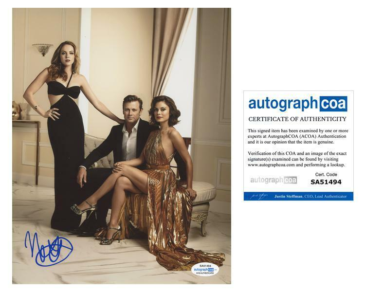 "Nathalie Kelley ""Dynasty"" AUTOGRAPH Signed 'Cristal Flores' 8x10 Photo ACOA"