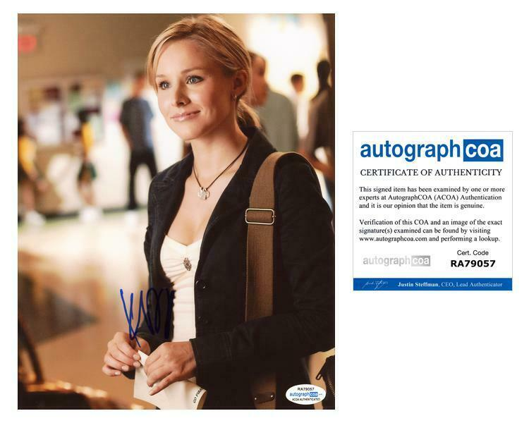 "Kristen Bell ""Veronica Mars"" AUTOGRAPH Signed 8x10 Photo ACOA"