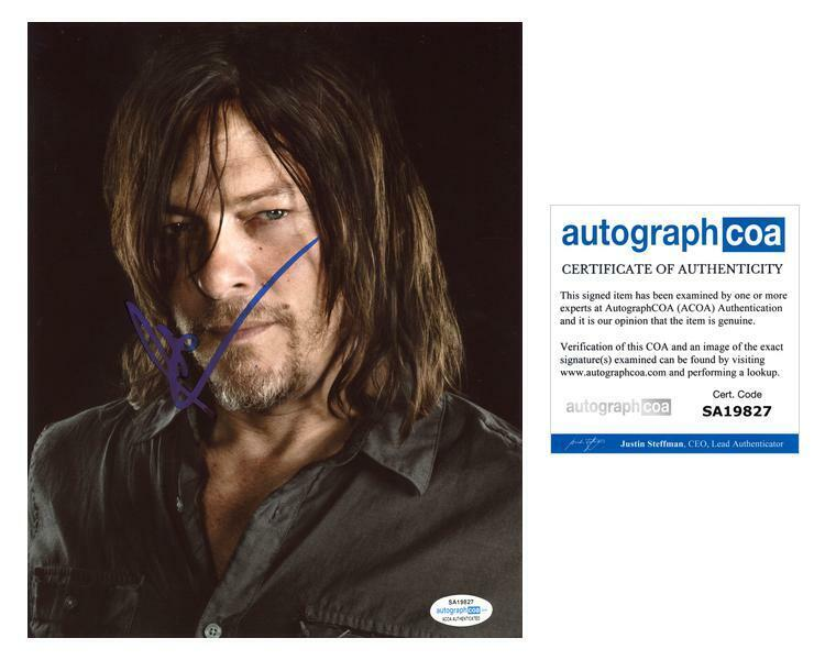 "Norman Reedus ""The Walking Dead"" AUTOGRAPH Signed 'Daryl Dixon' 8x10 Photo H"