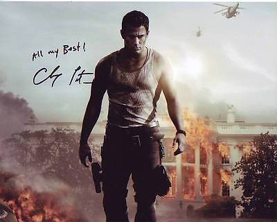 Channing Tatum Signed White House Down Photo W  Hologram Coa