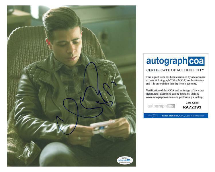 """Christian Navarro """"13 Reasons Why"""" AUTOGRAPH Signed 8x10 Photo B ACOA"""